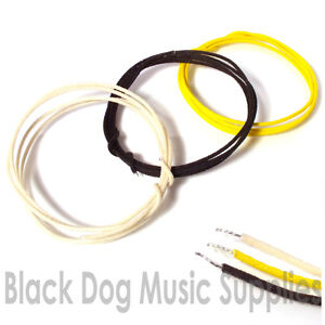 Guitar-wire-3x-1-meter-lengths-of-cloth-22-gauge-vintage-waxed-for-pickups-pots