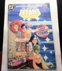 The New Teen Titans Comic Book #7 DC Comics 1981  Stock Image NM+