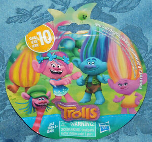 Trolls-Series-10-Blind-Bag-BRIDGET-LADY-GLITTER-SPARKLES-Figure-Doll-New-Sealed