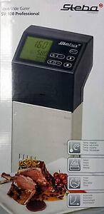 Steba-Sous-Vide-Garer-SV-100-Professional-variables-Sous-Vide-Geraet-SV100-30-L