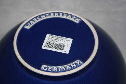 2,5 L Schüssel royal blau Alte Serie Wächtersbach  2500ml Bowl 23cm