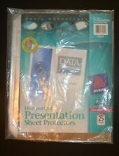 New Listingsealed New Avery 75304 Heavyweight Presentation Sheet Protectors 25 Pack