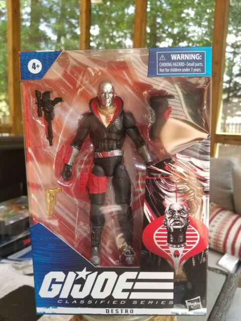 "GI Joe Classified Series Destro Cobra 6"" Figure #03 Hasbro NEW NIB IN HAND 🔥🐍"