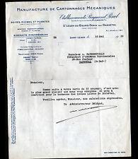 """SAINT-LEGER-du-BOURG-DENIS (76) USINE de CARTONNAGE / """"Raymond PINEL"""" en 1935"""