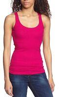 Womens Nike Club Rib Tank Top Vest Xs Running Casual Gym Yoga Pink Rrp£29.99