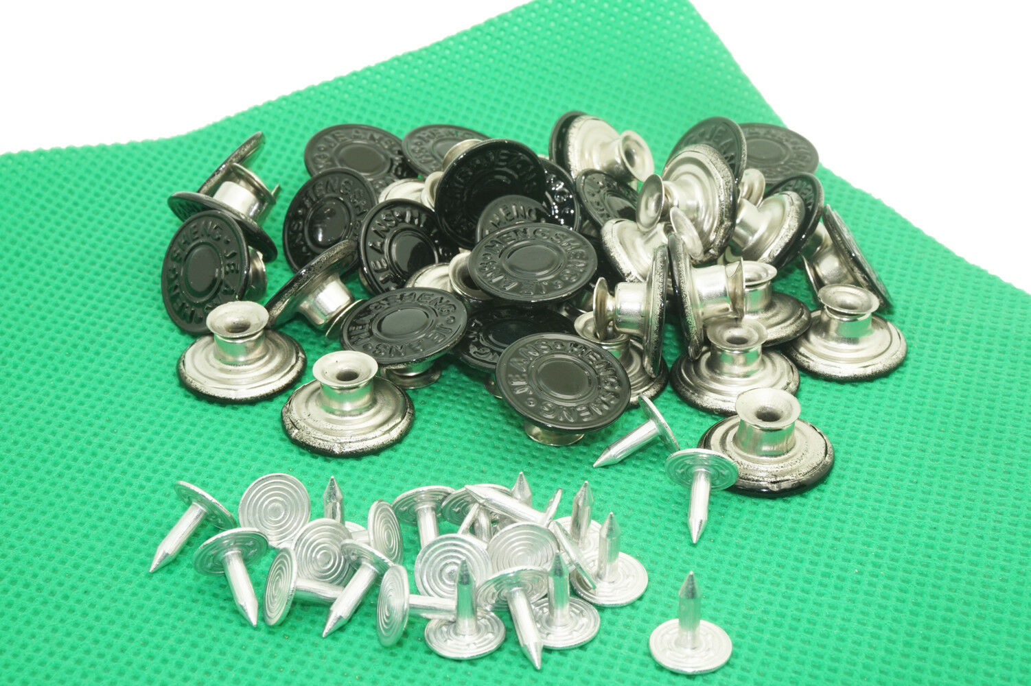 20 Mens Bachelor Buttons for Suspenders Instant Suspender Buttons - no sewing
