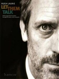 Hugh Laurie Let Them Talk Piano Vocal Guitare Pvg Partitions Livre Classic Blues-afficher Le Titre D'origine