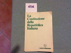 la costituzione della reppublica italiana