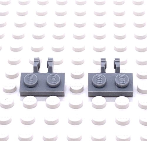 LEGO Parte 4515341 PIASTRA 1x2 con luce verticale 60471 grigio bluastro X2