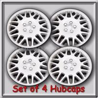 Set 4 Chrysler Town And Country Hubcaps 16 Silver Town & Country Wheel Covers