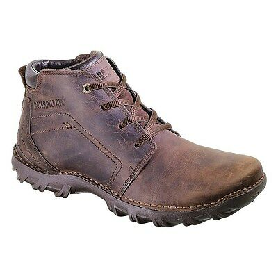 Men's Caterpillar Ankle Boot Transform Dark Brown Leather P716685
