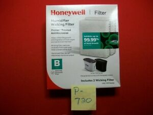 2-BRAND NEW HONEYWELL HUMIDIFIER WICKING FILTERS PROTEC TREATED ANTIMICROBIAL
