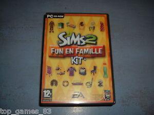LES-SIMS-2-FUN-EN-FAMILLE-KIT-PC-CD-ROM-COMPLET-Version-Francaise-envoi-suivi
