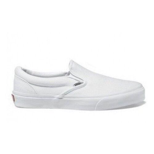 Ponerse En Zapatos Originales Veyew00 Vans 2018 Blanco Sin Cordones Tutta Italie A67AwdqH