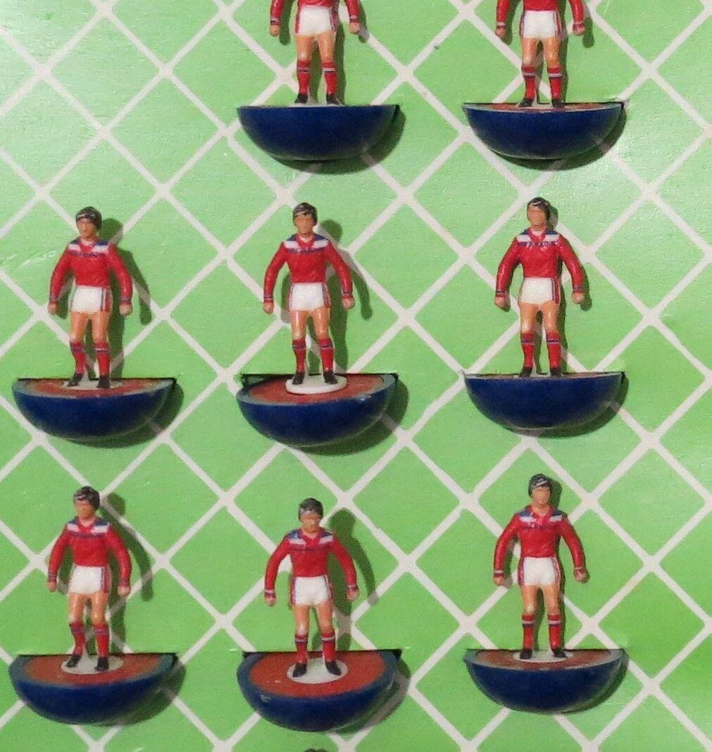 Subbuteo team  England 2nd  1982  squadra  Greek box ultra rare