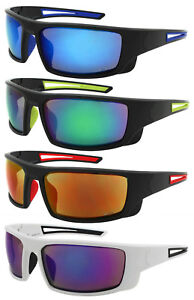 8afb9cf453 Edge I-Wear Sports Safety Sunglasses ANSI Z87+ Color Mirror Lens ...