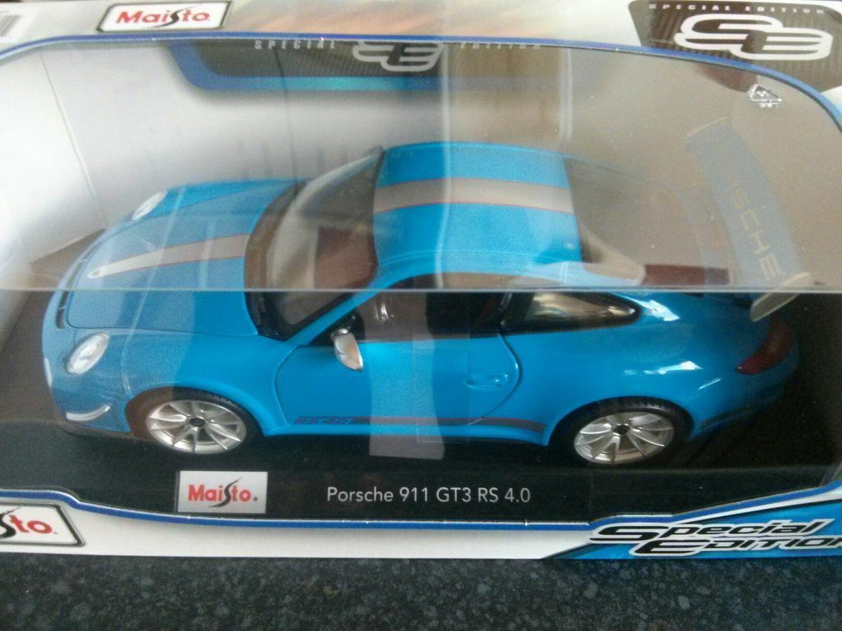 Maisto 46629 1 18 Porsche 911 (997) GT3 RS 4.0 BNIB