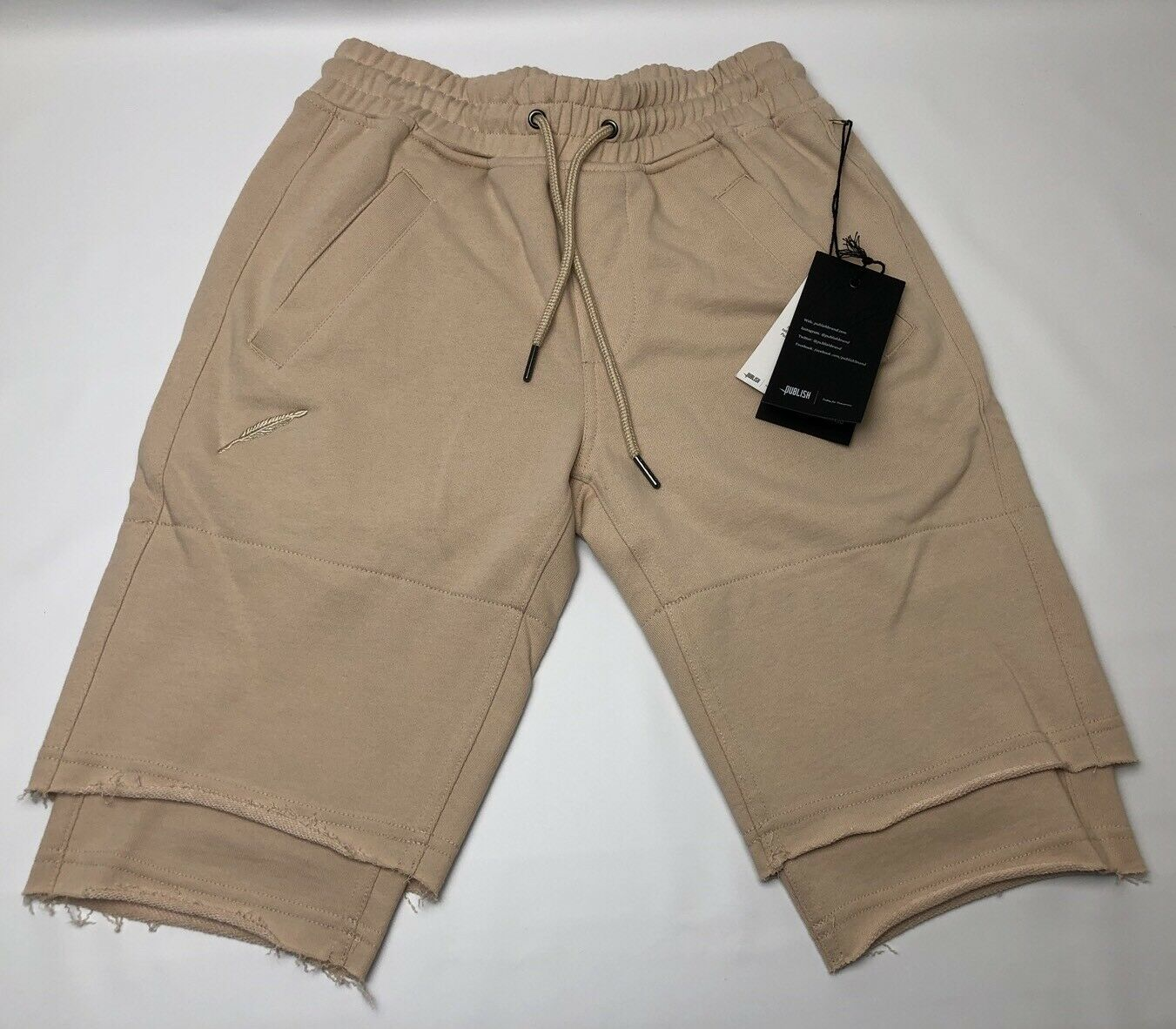 Publish Jett Shorts P1701049 Sand Brand New WithTags