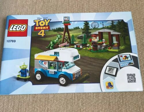 Lego Toy Story 4 RV Vacation 10769 INSTRUCTION MANUAL ONLY