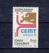 TURCHIA-TURKEY  1991 C.E.M.T. 2681 - Mnh