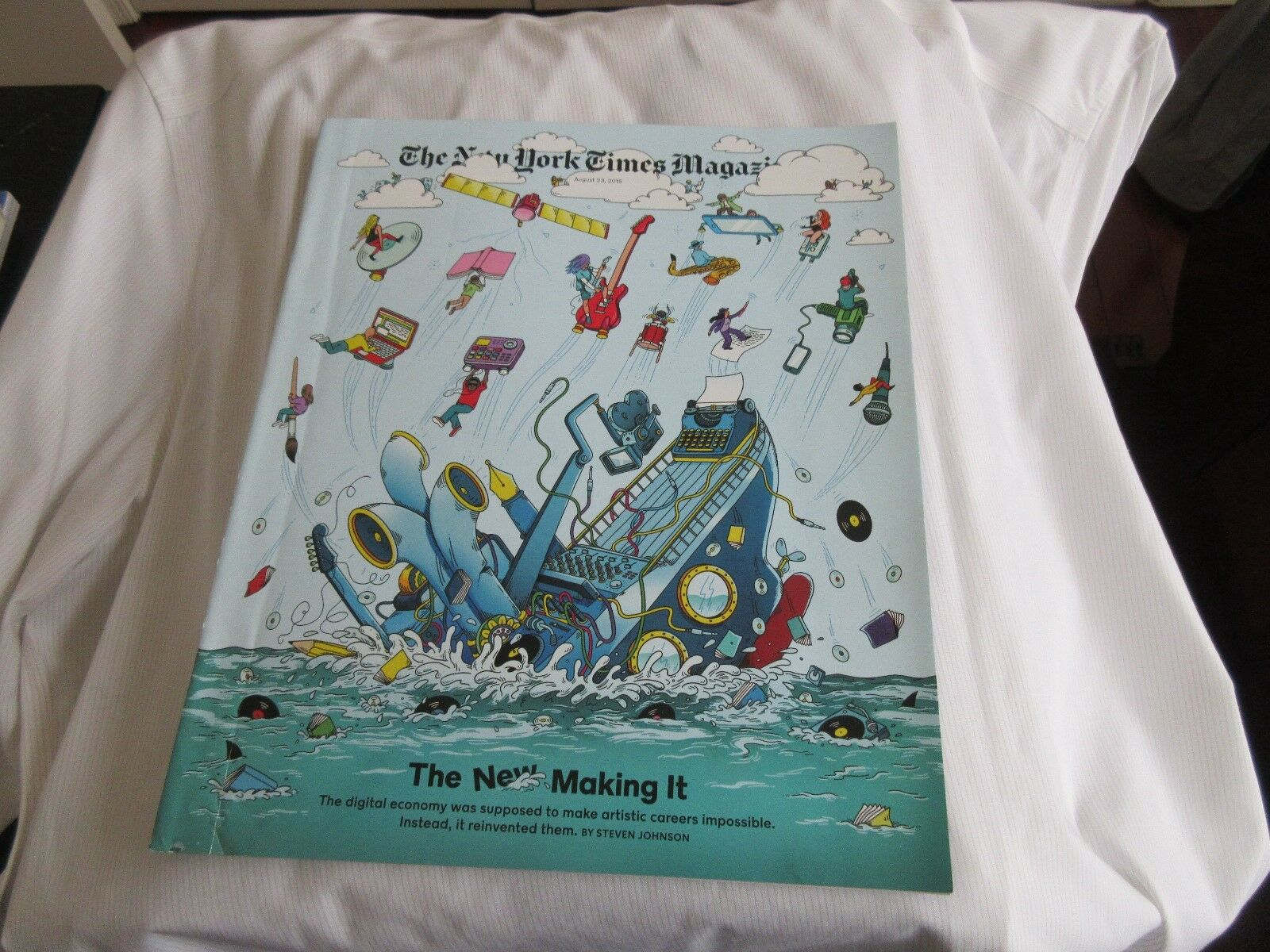 The New Making It ,The New York Times Magazine , August