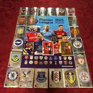 PANINI PREMIER LEAGUE 2021 STICKER COLLECTION - 642 STICKERS FULL COLLECTION