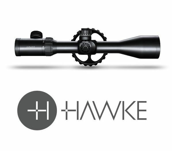 Hawke Airmax 30 3-12x50 SF AMX IR Mil Dot Rifle scope (Hunting)