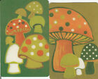 Vintage Swap / Playing Cards- 2 SINGLE -FUNKY RETRO TOADSTOOLS / MUSHROOMS