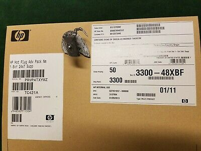 HP Hot Plug Advanced Pack 1 SVR 24X7 Support TC421A New