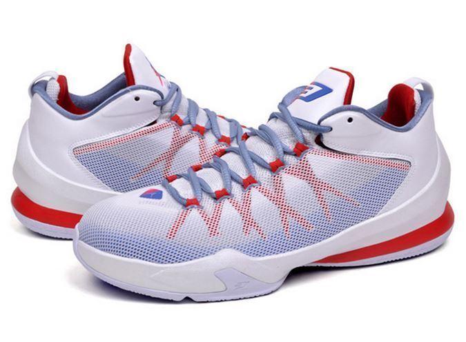 Nike VIII Jordan CP3 VIII Nike AE Gr 42 Weiß/game royal/ROT/cool Blau 725173 107 137f21