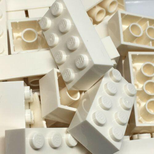 Neuf-LEGO 25 2x4 brique 3001-Choisir Votre Couleur-Noir Rouge Jaune Ocre etc