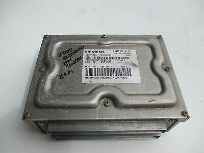 2001 CADILLAC ELDORADO 4.6L ENGINE COMPUTER 12562481 VIN PROGRAMMED