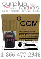 Icom Ic R6 Handheld Portable Receiver Police Fire Ems Scanner 0.1-1309.995mhz