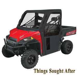 Polaris Ranger Xp 900 >> Details About Black Os Cab Enclosure For 2019 Polaris Ranger Xp 900 Eps Efi Diesel Hst Cabin