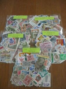500-WORLD-STAMPS-5X100-STAMPS-OFF-PAPER-ONLY-4-75p