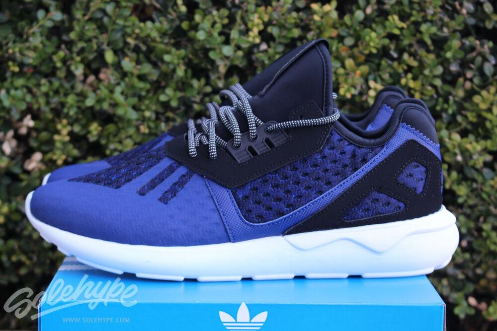 Adidas Originals Tubular courirner sz 9.5 Noir Lush Encre Bleu CHOC hommeTHE AQ2916-