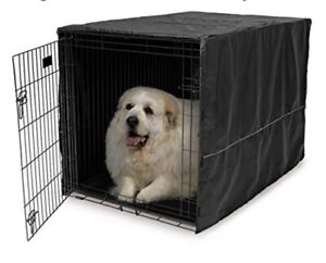 New-48-Inches-Dog-Crate-Cover-Gray