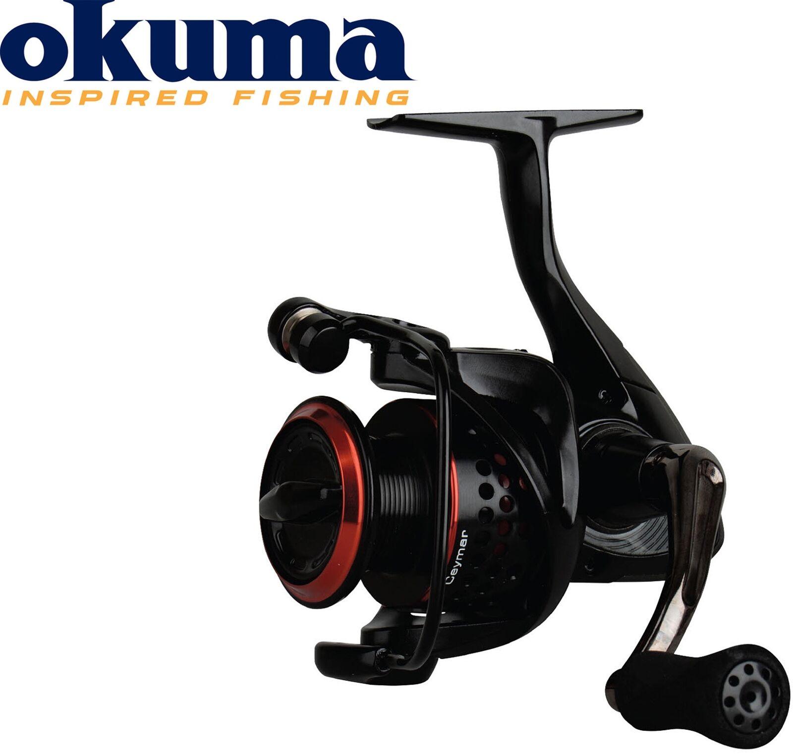 Okuma Schnurfassung, Ceymar XT CXT-55 Rolle – 325m 0,30mm Schnurfassung, Okuma Spinnrolle, Hechtrolle 8d71a5
