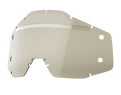 100/% Accuri//Strata Forecast MX Offroad Replacement Lens Smoke