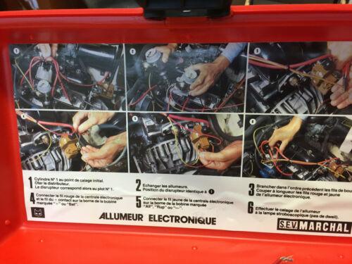 MATRA BAGHEERA S // SIMCA 1100 TI ALLUMEUR ELECTRONIQUE MARCHAL NEUF LE TOP