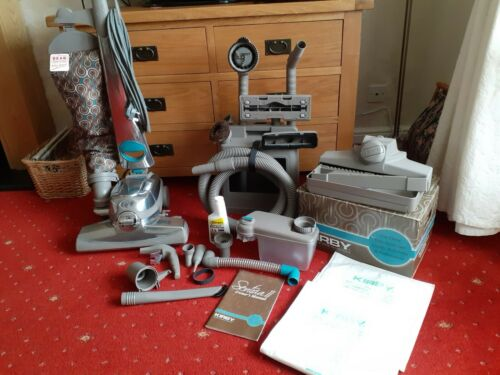 KIRBY SENTRIA 2 VACUUM CLEANER WITH CADDY, TOOLS, SHAMPOOER, 2 BAGS & MANUAL