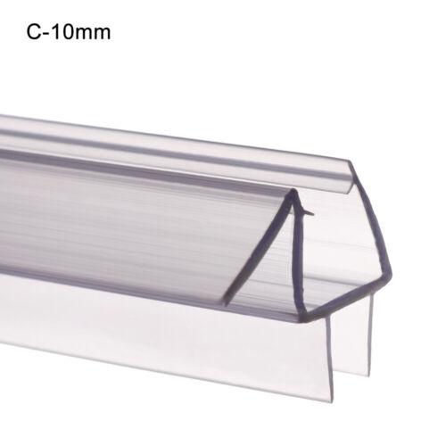 Screen Bathroom Sealing Strips Glass Door Weatherstrip Water Baffle Window Seal