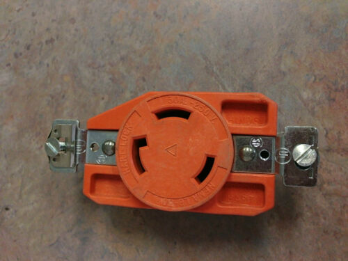 IG6340 Arrow Hart Receptacle L6-30R Isolated Ground