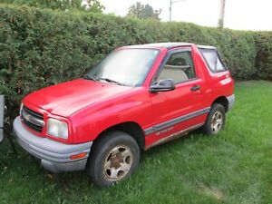 2002 Chevrolet Tracker -