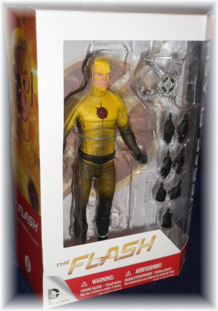 The Flash Cw Tv Series Reverse Flash Action Figure Dc Direct 18cm