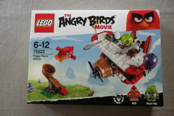 Grosses Soldes Lego The Angry Birds Movie 75822 -l'attaque En Avion Du Cochon -neuve Et Scellée