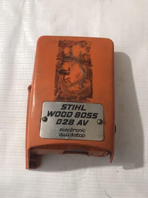 Engine Shroud Top Cover For Stihl 028 AV Super Wood Boss Chainsaw 1118 084 0902