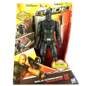 Joe: 30th Anniversary 2011 SNAKE EYES G.I RENEGADES NINJA COMMANDO - Loose