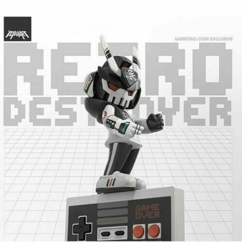 "IN HAND TEQ63 Retro Destroyer 6/"" Vinyl NES Themed"