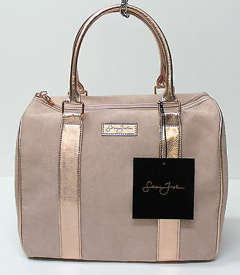SEAN JOHN DESIGNER PINK LADIES EVENING HANDBAG TOP ZIPPER PURSE, CHRISTMAS GIFT